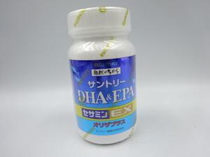 ◇ SUNTORY サントリー DHA&EPA セサミンEX オリザプラス 120粒 賞味期限2023.3 未開封品