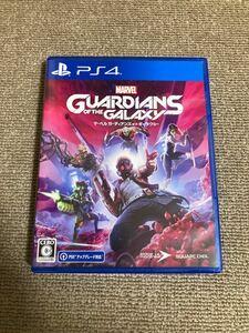 【PS4】 マーベル ガーディアンズオブギャラクシー 中古美品 初回特典コード付き
