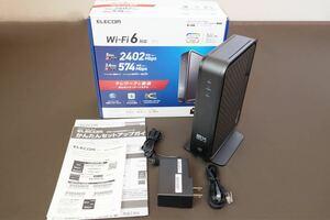 Wi-Fi 6対応エレコム無線LANルーター WRC-X3000GSN