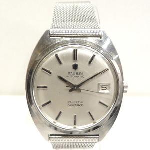 ウォルサム ニューポート 自動巻 25石 デイト 時計 腕時計 メンズ☆0339
