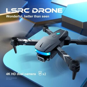 【新品未使用】ミニドローン 4kカメラ付き 200g以下 LEDライト搭載 免許不要 空撮 飛行 ドローン