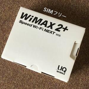 SIMフリー WiMAX2+ W06