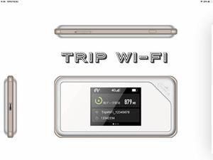 Trip Wi-Fi SIMフリー Wi-Fiモバイルルーター