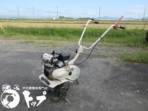 EL20 エコ・ラテ 三菱農機 小型 管理機 耕耘機 エンジン GM82P 最大2馬力 LPガス燃料 ガスコンロ用ガスでOK 中古 滋賀県