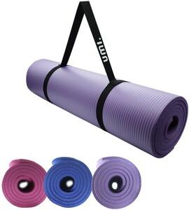 ヨガマット ストレッチマット エクササイズ 男女兼用 体操、瞑想に最適 トレーニングマット