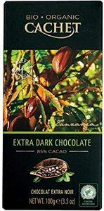 100グラム (x 1) Cachet(カシェ) オーガニックエクストラダークチョコレート85% 100g