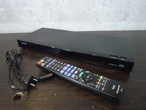 美品 動作保証 Panasonic パナソニック HDD/BDレコーダー ブルーレイレコーダー DMR-BRW510 リモコン付き 2番組同時録画 500GB 10408