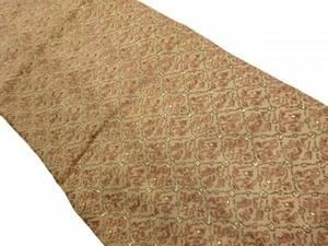 宗sou アンティーク 抽象模様織り出し名古屋帯(着用可)