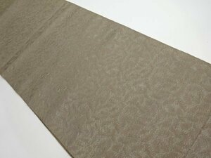 780192# 【1円~】アンティーク 抽象模様織り出し名古屋帯(着用可)