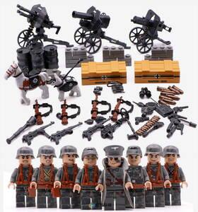 ミニフィグ 帝国防衛軍 8体セット 武器 装備品付き レゴ 互換 LEGO ミニフィギュア ブロック おもちゃ キッズ 子供DJ700