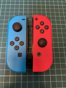 ニンテンドースイッチ 任天堂 NintendoSwitch用ジョイコン Joy-Con(L)/(R) 良品 初期保証有 送料無料 ⑤