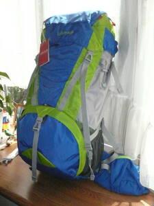新品 Lafumaラフマ バックパック/トレッキングリュック(ALPEN ROSE45/Blue Jewel) 容量45L H65×W30×D22cm 登山 縦走 小屋泊り 旅行