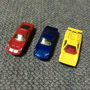 A30 2102☆1円~トミカ 絶版 外国車シリーズ 青箱 日本製 イタリア車コレクション ランボルギーニ ミウラ カウンタック 3台 F50 LP500S F40