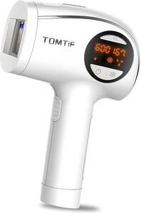 TOMTiF 家庭用脱毛器 光美容器 IPL光エステ 脱毛美肌 99万発照射 脇 全身用 男女兼用 完全脱毛 レーザー レディース
