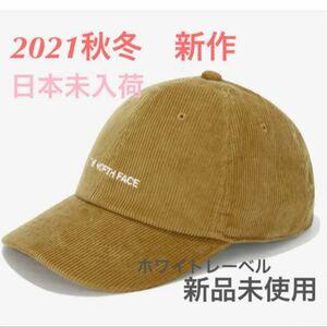ノースフェイス キャップ 帽子 新作 コーデュロイ ホワイトレーベル