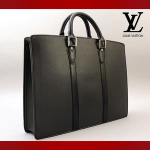 【極美品】 LOUIS VUITTON ルイヴィトン タイガ ポルトドキュマン ロザン ビジネスバッグ ブリーフケース ブラック (017)
