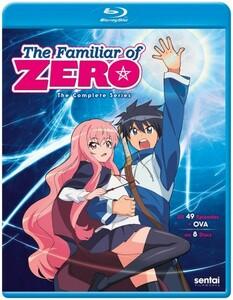 【送料込】ゼロの使い魔 (第1から4期) 全49話+OVA(北米版 ブルーレイ) The Familiar of Zero blu-ray BD