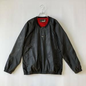 MIZUNO Global Elite Warmer Jacket グローバルエリートウォーマージャケット/カモフラージュ柄/迷彩柄/プルオーバー/ミズノ/ブラック/M