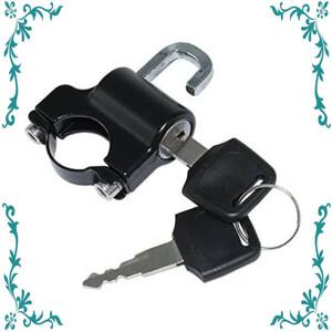 【新品】汎用 ヘルメットロック ヘルメットホルダー バイク ハンドル スクーター パイプ 防犯 鍵 キー 盗難防止 直径 22mm