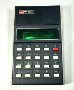 (通電確認済) SHARP シャープ電卓 ELSI MATE EL-105 昭和レトロ