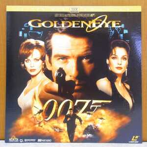 ☆輸入盤LD 007 GOLDEN EYE 2枚組 英語版レーザーディスク 洋画 映画 ☆管理№2006