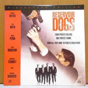 ☆輸入盤LD RESERVOIR DOGS 英語版レーザーディスク 洋画 映画 ☆管理№2009
