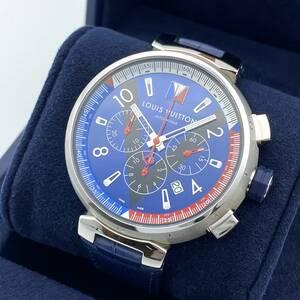 LOUIS VUITTON ルイヴィトン タンブール Q1A61 ルイヴィトンカップクロノグラフ メンズ 自動巻 腕時計