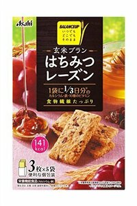 新品150g×5箱 アサヒグループ食品 バランスアップ玄米ブラン はちみつレーズン 150g×5箱8GAW