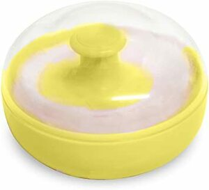 Pigeon Baby Puff U With Yellow Container