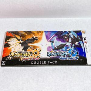 3DS ソフト ポケモン ウルトラサン ウルトラムーン ダブルパック ポケットモンスター