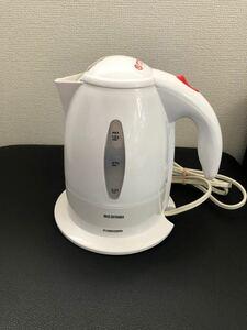 アイリスオーヤマ 電気ケトル ホワイト IKE-1001-W
