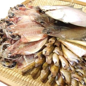 【1円~】干物セット 1.5kg!3種類【ハタハタ・カレイ・アジ】[冷凍]【日本海産】一夜干し干物ひもの他出品商品は同梱出来ません