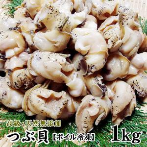 【1円~即決】無添加ボイルつぶ貝(ゴダック銀の滴) [冷凍] 1kg(50粒前後入)【他商品と同梱は出来ません】