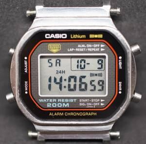 CASIO G-SHOCK DW5000C-1A [240] 初代 中古 なんとガラスは新品 ベルトおまけ