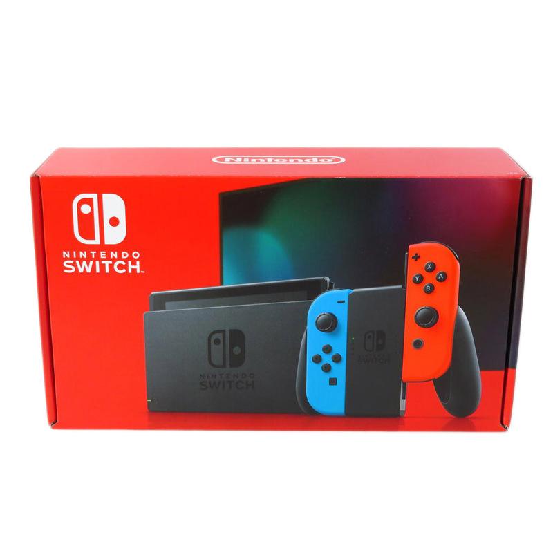 1円【未使用】Nintendo 任天堂/Nintendo Switch本体 ネオンブルー?ネオンレッド/HAD-S-KABAA/81