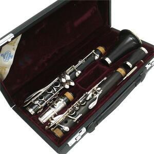 【良品/メンテ済み】Buffet Crampon/ビュッフェ・クランポン B♭クラリネット E13 Vandorenマウスピース 5RV/ハードケース付き 管楽器