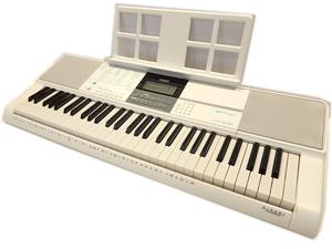 【美品】CASIO カシオ◆LK-516 電子キーボード◆61鍵盤◆2019年製◆内蔵曲全230曲 光ナビゲーション