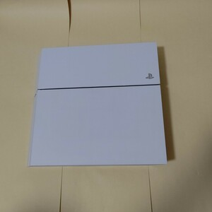 PlayStation 4 本体のみ PS4 500GB CUH-1100AB02 プレイステーション4 グレイシャー・ホワイト