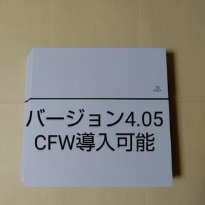 PlayStation 4 本体のみ PS4 500GB ホワイト CUH-1200AB02 バージョン4.05 CFW導入可能