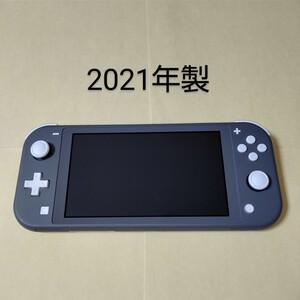 Nintendo Switch Lite 本体のみ グレー スイッチライト