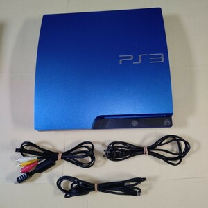 PlayStation 3 (320GB) 本体 スプラッシュ・ブルー PS3 プレイステーション3 (CECH-3000BSB)