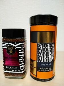 FAUCHON 紅茶モーニングとFAUCHONインスタントコーヒーコロンビア