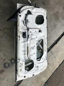 スカイライン GT-R BCNR33 R33 純正 ドアパネル 助手席側 左 白系