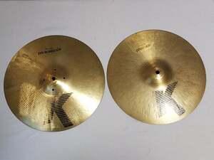 "K Zildjian Hi-hat 13"" Top & Bottom"