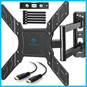 【特価】頑丈な金属 前後、左右、上下多角度調節可能 液晶テレビ用 LED LCD BAHUAK 耐荷重45kg 23-55インチ対応 アーム式 テレビ壁掛け金具