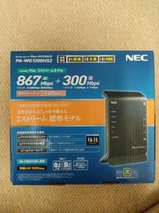 Wi-fi ルータ NEC PA-WG1200HS2
