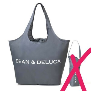 DEAN&DELUCA ディーン&デルーカ トートバッグ チャコール エコバック