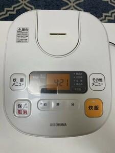 IRIS炊飯器 VH-MA10-W 2017製品