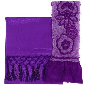 [京の舞姿]七五三帯揚げ・しごきセット(紫)