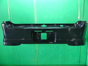 エブリイ PZターボ DA64W 中期 スズキ 純正 リアバンパー 黒 スポイラー付き 64 31053 F560